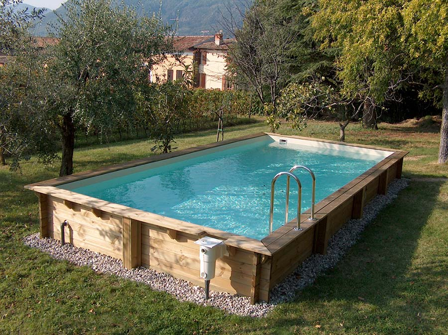Vendita e installazione piscine fuori terra - Rivestire piscina fuori terra fai da te ...